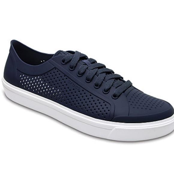 d8f8fad2eb0dd CROCS Shoes | Citilane Roka Perforated Lace Up | Poshmark